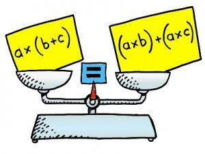 توزیع پذیری ضرب نسبت به جمع به صورت جبری