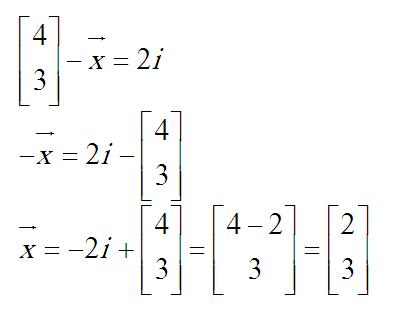 بردار و حل معادله برداری